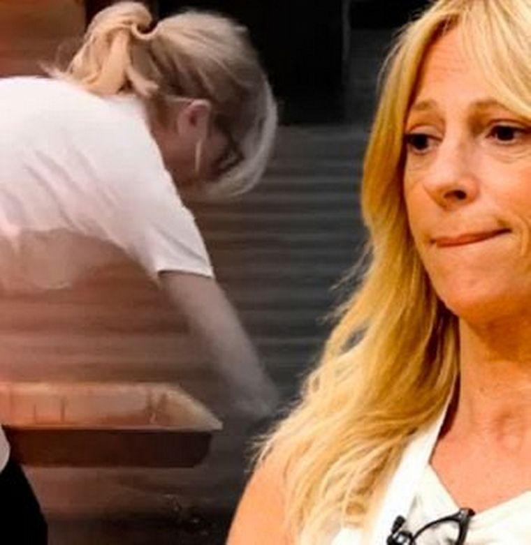 FOTO: Claudia Fontán lloró al pedir disculpas al jurado por mentir