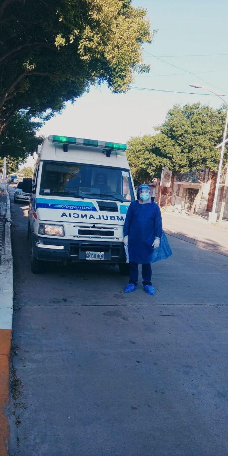 FOTO: Colaborar con el COE lo inspiró a estudiar enfermería