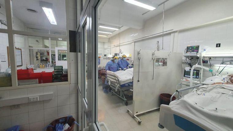FOTO: Los médicos, los héroes al frente de esta pandemia.