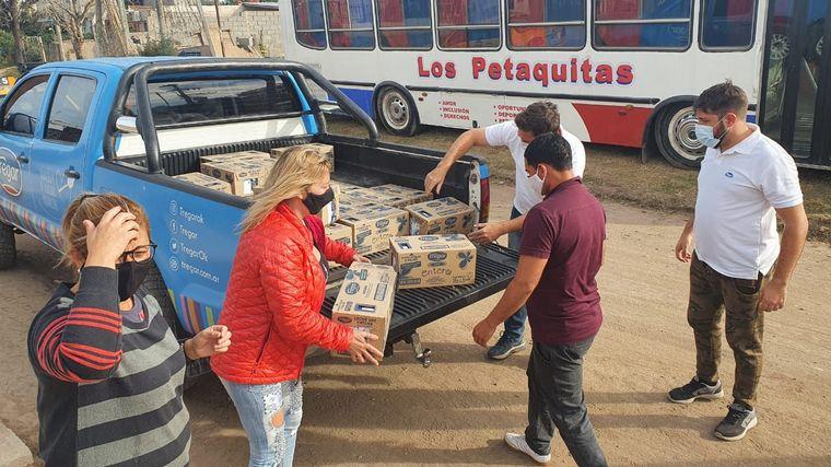 FOTO: Merendero Los Petaquitas, en barrio Villa Unión.