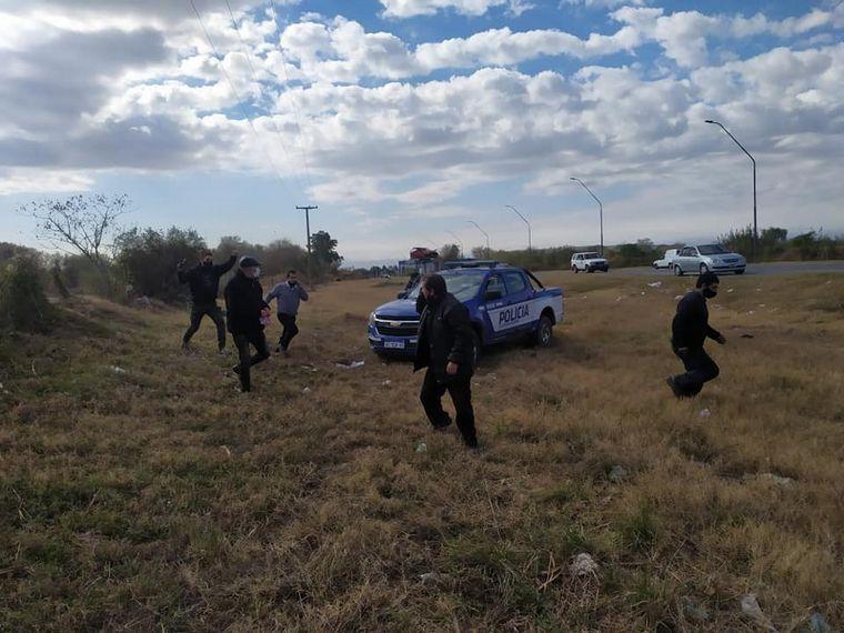 AUDIO: Cómo fue que la Policía llegó al rescate del bus asaltado