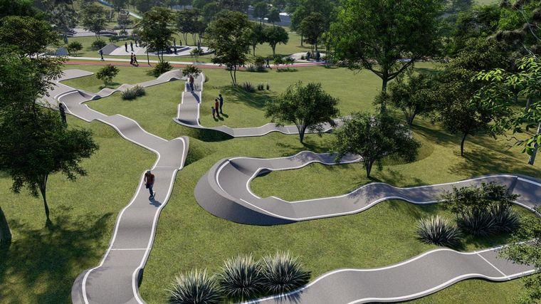 FOTO: Mejoraran las instalaciones del Parque de las Naciones.