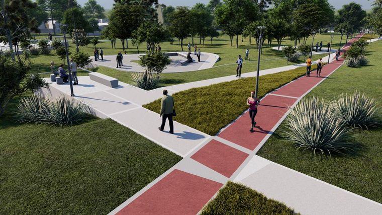 FOTO: Mejorarán las instalaciones del Parque de las Naciones.
