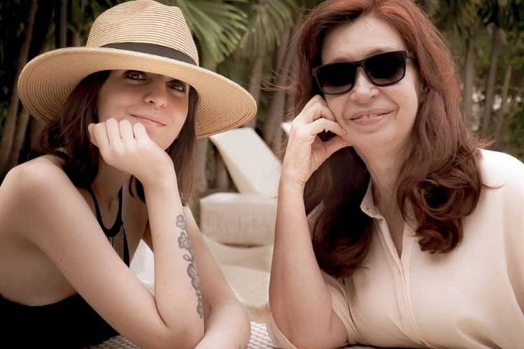 FOTO: Internaron a Florencia Kirchner por una infección urinaria