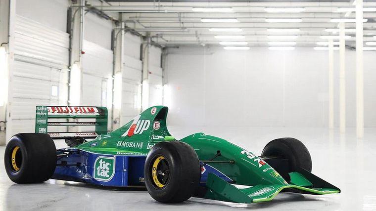 FOTO: Se trata del Jordan 191 que manejó el Kaiser en el Gran Premio de Bélgica