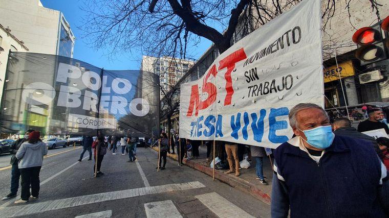 FOTO: Este viernes se movilizan desde las 11.30 en esa misma intersección