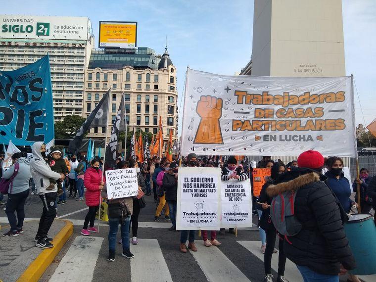 AUDIO: Una nueva jornada tensa en CABA por numerosas protestas