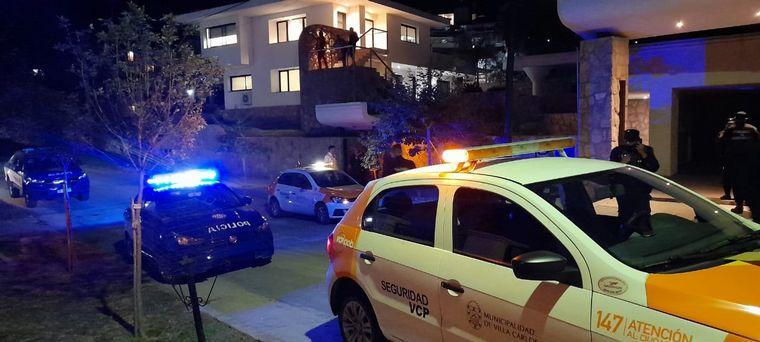 FOTO: Detuvieron a Yao Cabrera y otros youtubers en Carlos Paz
