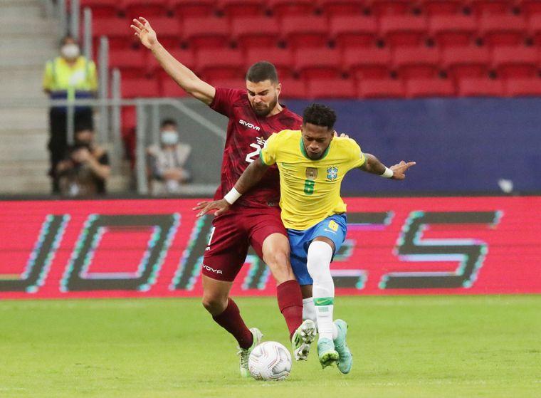 FOTO: Marquinhos, Neymar Jr y Barbosa marcaron los tantos del partido.