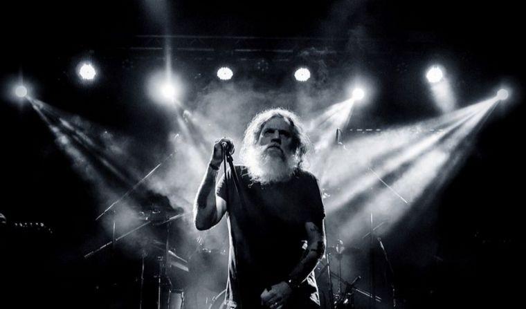 FOTO: Falleció el rockero Pato Larralde, líder de Los Antiguos y Sauron