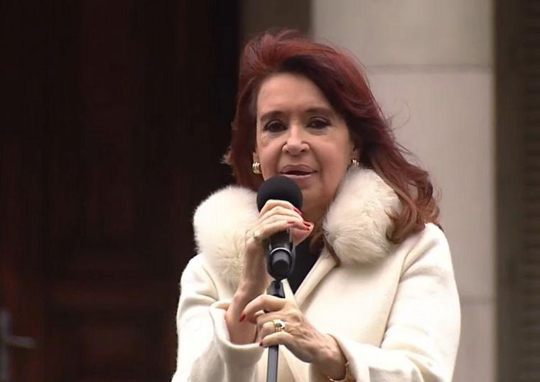 FOTO: Cristina Fernández participó de un acto en el Hospital de Niños Sor María Ludovica.