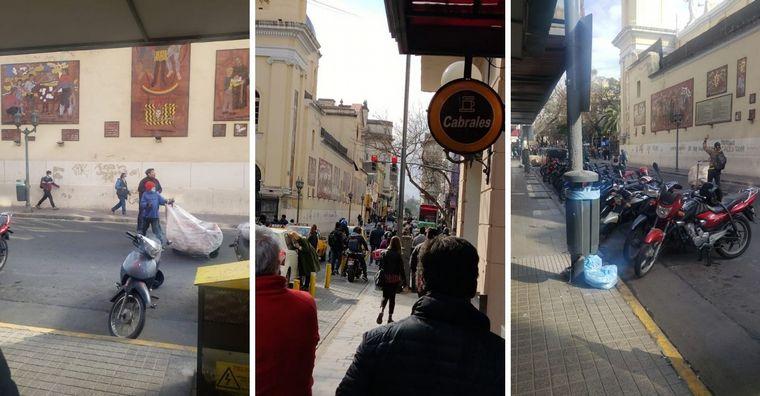 AUDIO: Cartoneros se lanzaron piedras en pleno centro de Córdoba