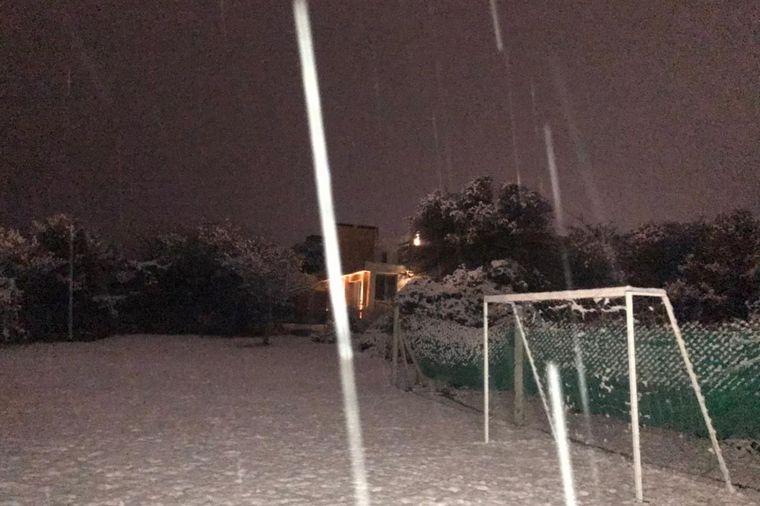 FOTO: Postales de la nieve en Carlos Paz