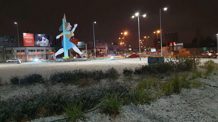 FOTO: Postales de la nieve en Córdoba.