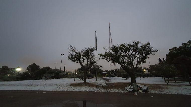 FOTO: Nieve en Córdoba