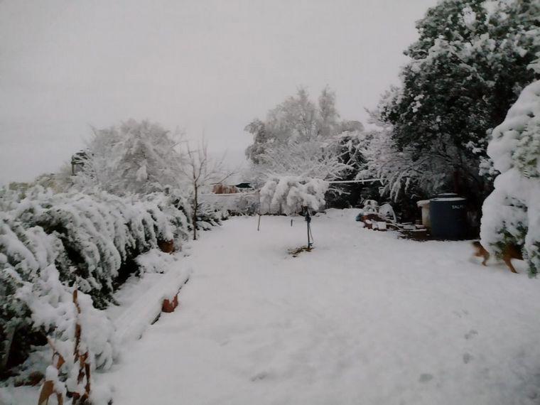 FOTO: Nieve Santa María Punilla