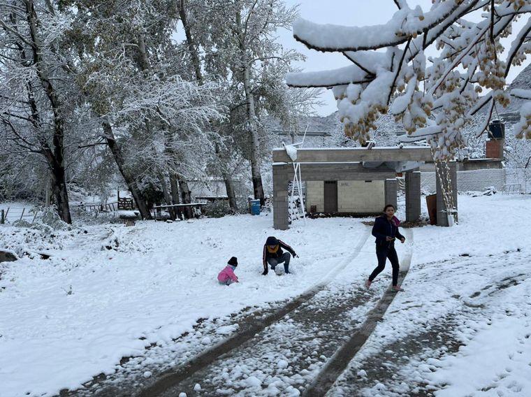 FOTO: Postales de la nevada en Córdoba