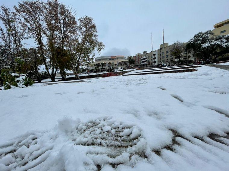 FOTO: Nieve en Icho Cruz