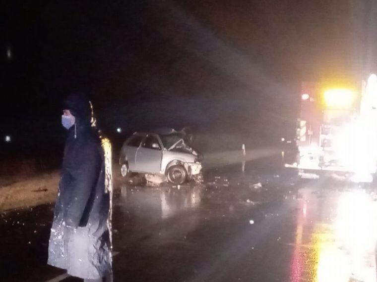 FOTO: Accidente fatal en Las Varillas