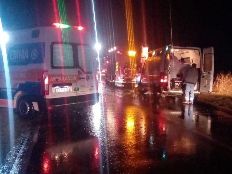 FOTO: Trasladaron a Córdoba a dos menores por el trágico accidente en Las Varillas