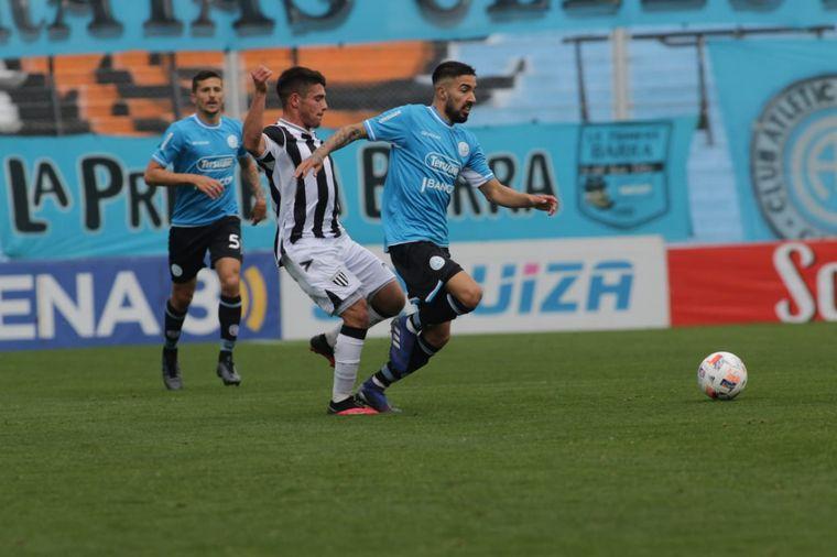 FOTO: Belgrano recibe a Gimnasia de Mendoza en la Primera Nacional.