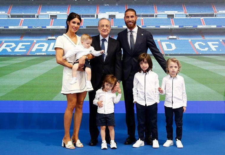 FOTO: Sergio Ramos se despidió del Real Madrid