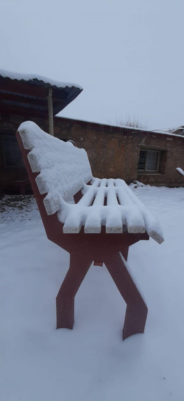 FOTO: Así se vivió la nevada en Pampa de Achala