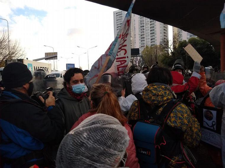 FOTO: Movilización en Capital Federal