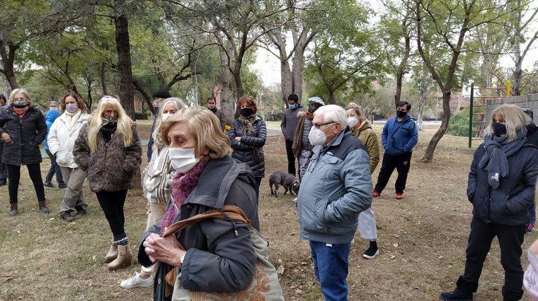 FOTO: Vecinos se reunieron para pedir mayor seguridad.