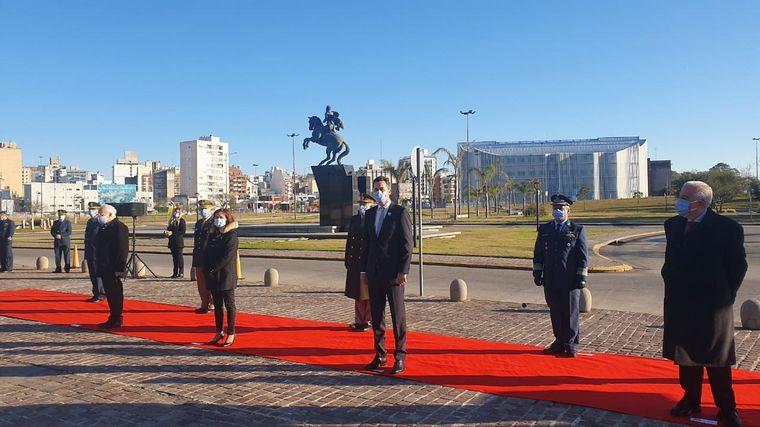 FOTO: Córdoba conmemoró el Día de la Bandera en el Centro Cívico