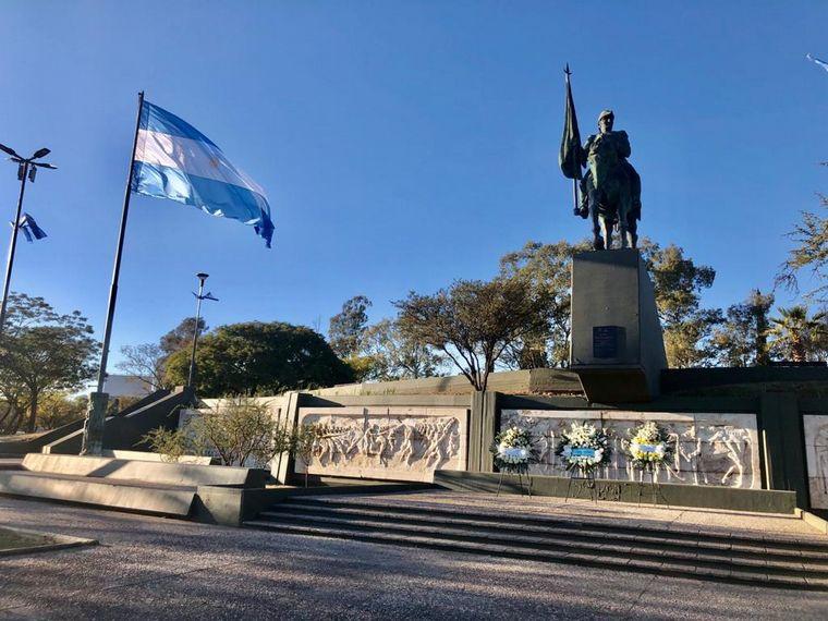 FOTO: Córdoba inaugura la remodelación del monumento a Belgrano