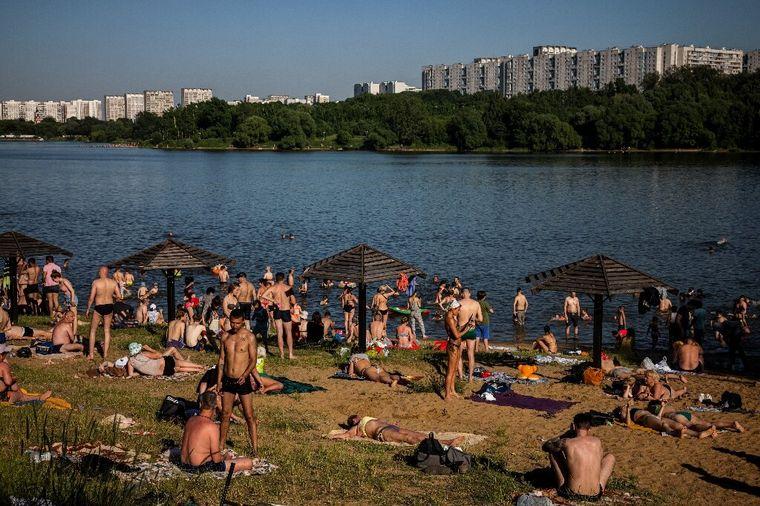 FOTO: Histórica ola de calor en Rusia