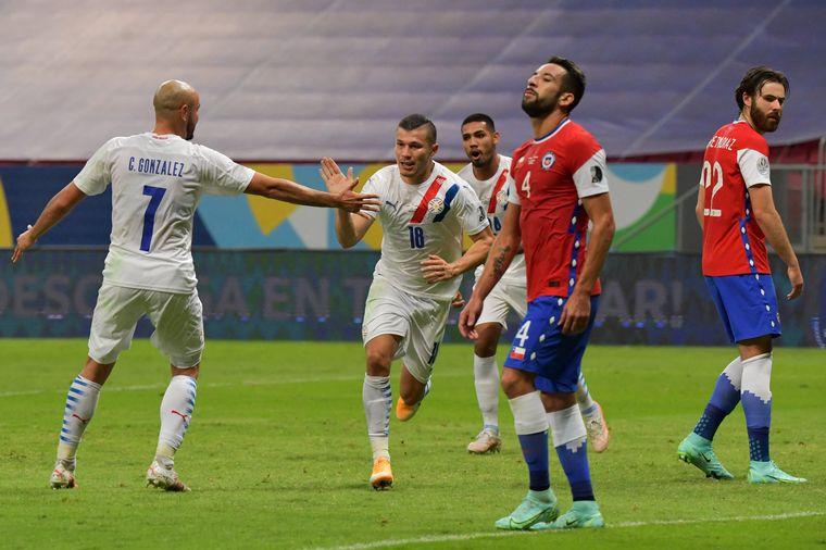 AUDIO: Resumen del partido que Paraguay le ganó a Chile