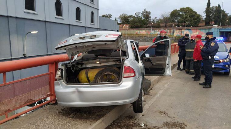 FOTO: El conductor de 28 años se encuentra estable.