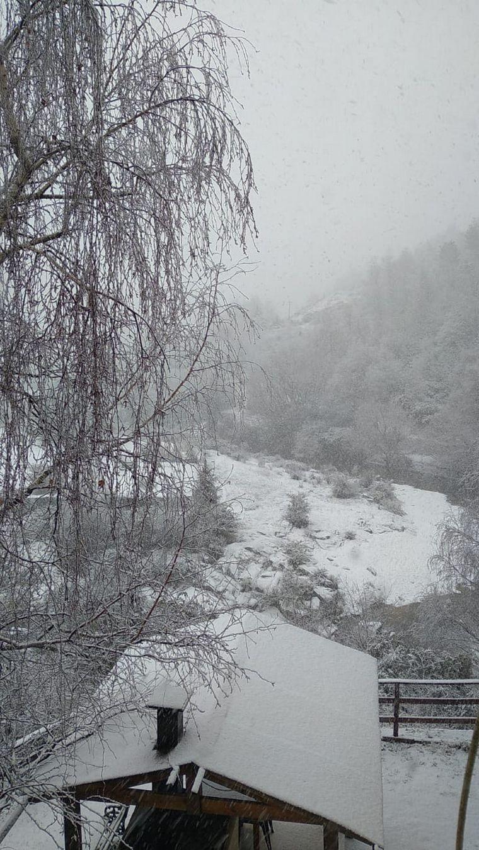 FOTO: Intensa nevada en el Valle de Calamuchita