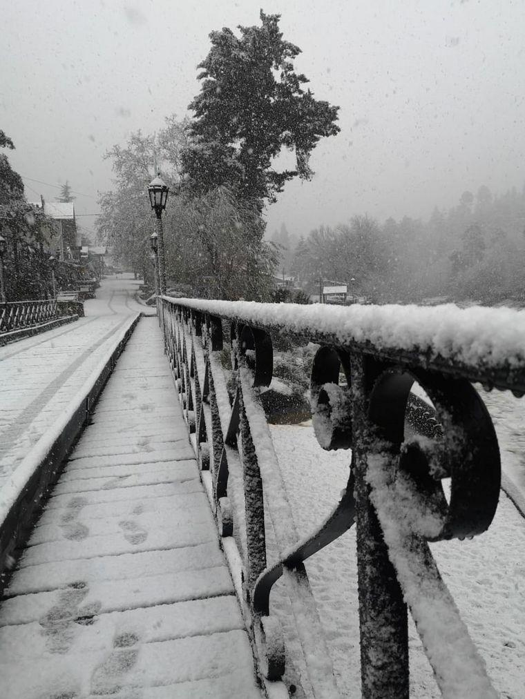 FOTO: Vista desde Cabañas del Fuimi en La Cumbrecita