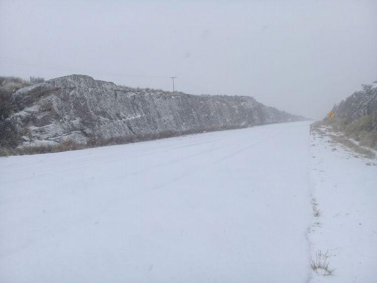 FOTO: Nieve en las Altas Cumbres