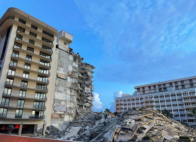 AUDIO: Miami: suspenden la búsqueda por temor a otro derrumbe