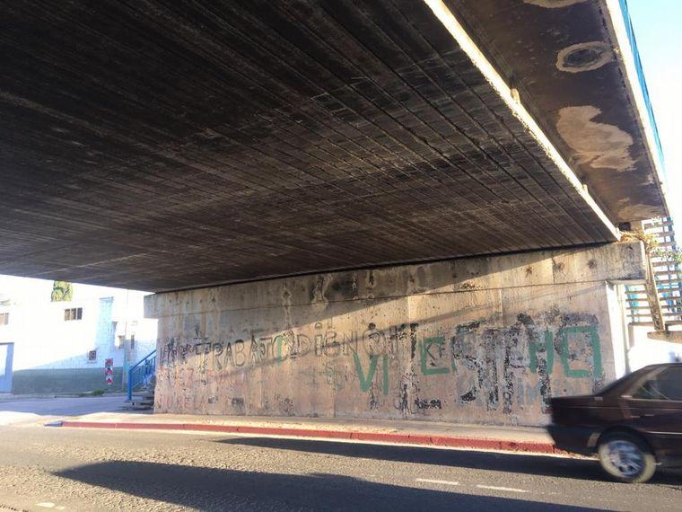 "FOTO: Córdoba ya tiene su primer ""puente lego"""