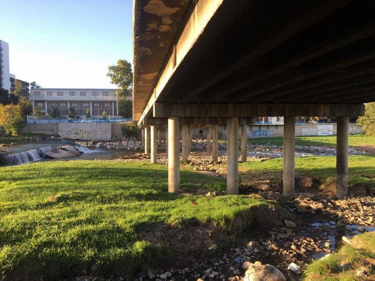 FOTO: Así lucía el Puente Zipoli antes de la intervención