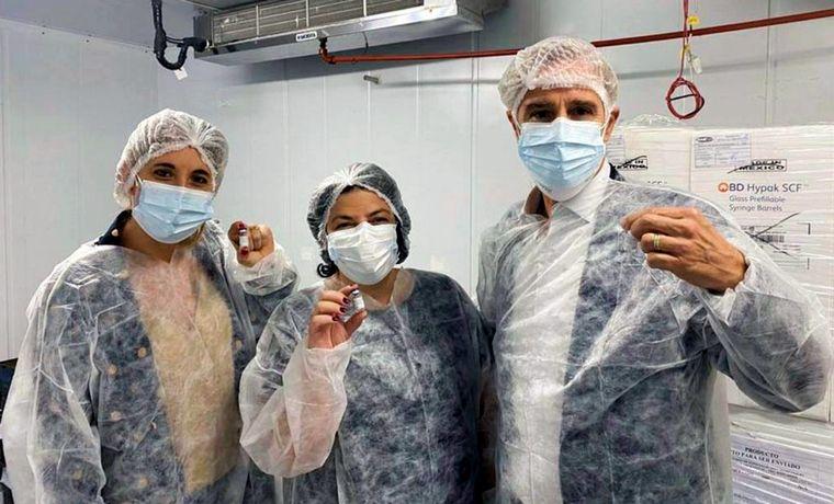 FOTO: Sánchez se refirió al ingreso a Europa de las personas vacunadas con Sputnik V.