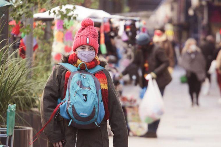 FOTO: Martes frío en gran parte del país.