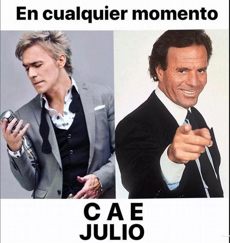FOTO: Los hilarantes memes de Julio Iglesias.