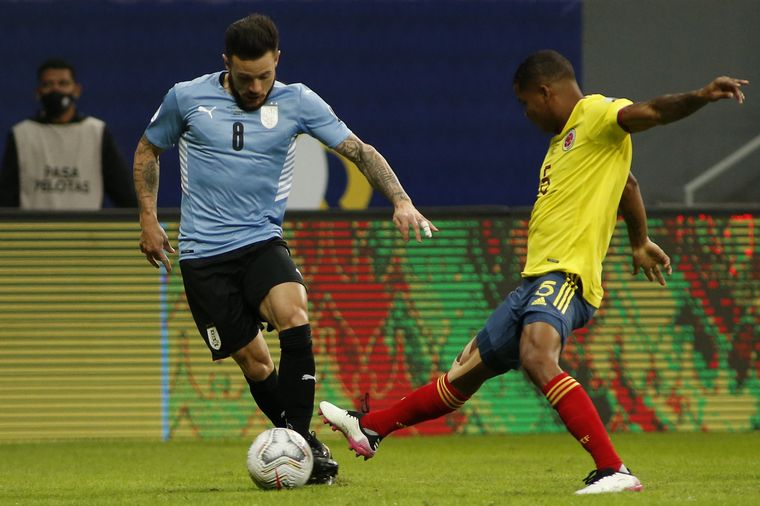 FOTO: David Ospina, la figura del partido de Colombia
