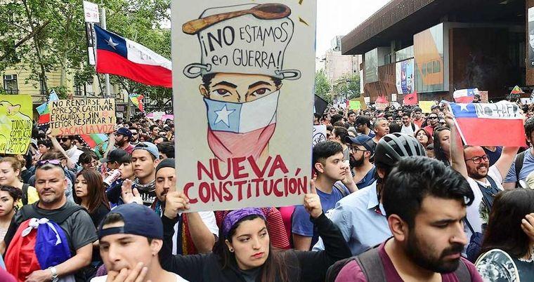 FOTO: La Convención Constituyente a cargo de Elisa Loncón