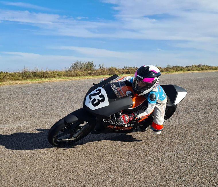 AUDIO: Tiene 10 años y debutará en el Superbike Argentino