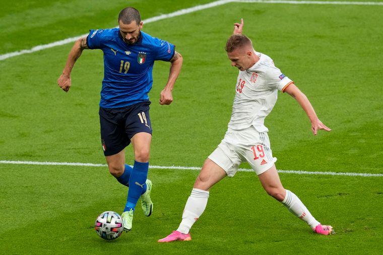 FOTO: Italia eliminó por penales a España y es el primer finalista