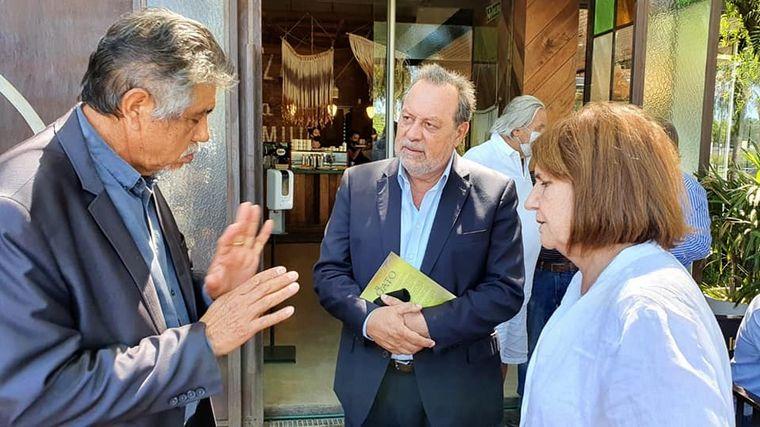 FOTO: Bullrich, en su última visita a Córdoba con dirigentes del PRO