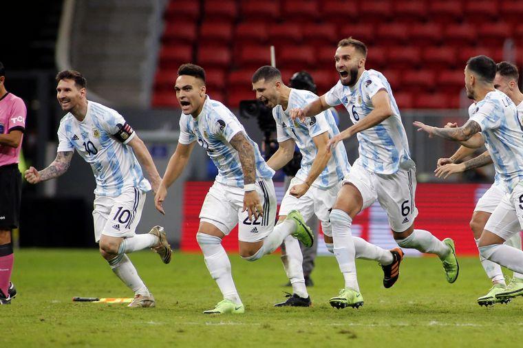 Argentina ganó por penales y definirá el título con Brasil - Copa América  2021 - Cadena 3 Argentina