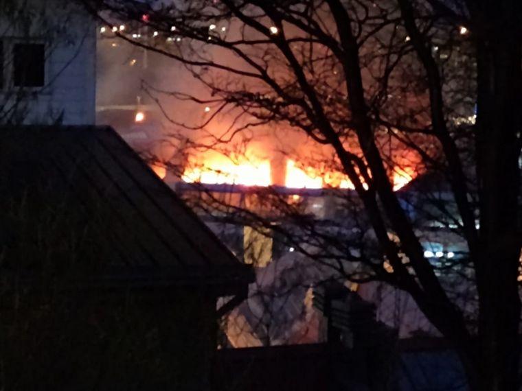 AUDIO: Está controlado el incendio en el Hospital Regional Ushuaia